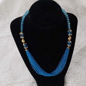 NWOT blue beads indian jewelry